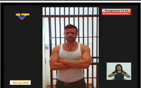 Diosdado Cabello revela prueba de vida de Leopoldo López desde Ramo Verde | Captura de video