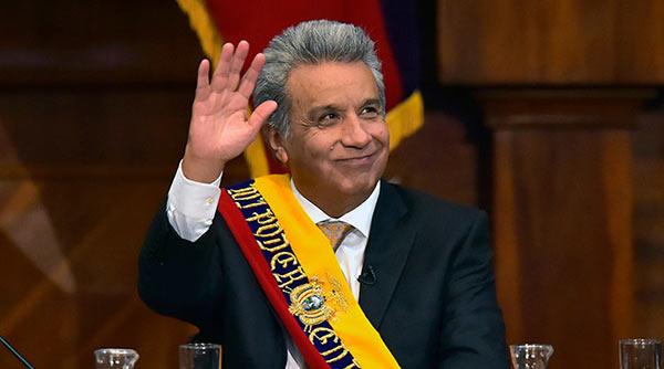 Lenín Moreno, Presidente de Ecuador | Foto: EFE