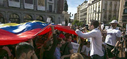 Venezolanos en Madrid | Foto: EFE