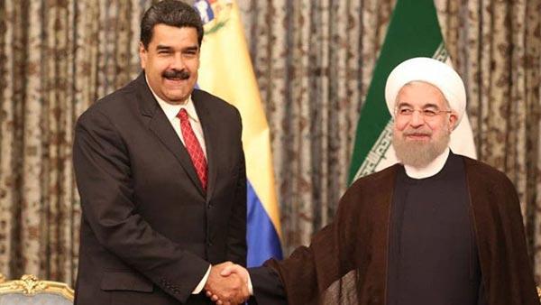Nicolás Maduro junto a Hasán Rohaní | Foto: EFE