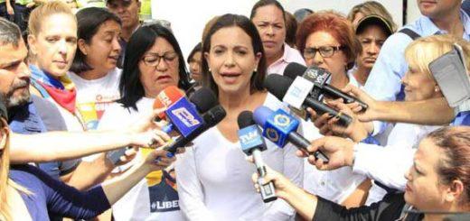 María Corina Machado convoca a las madres a marchar este domingo | Foto: PrensaMC