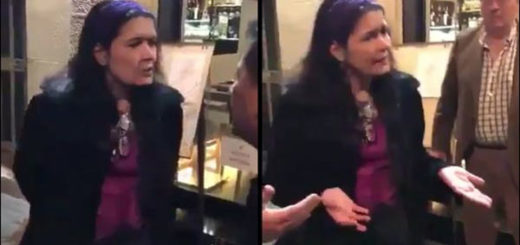 Venezolanos en España enfrentan a ex ministra Maripili Hernández | Captura de video