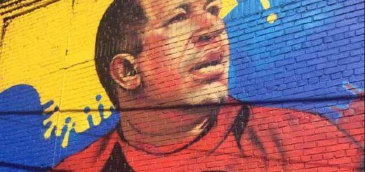 Mural de Chávez en Bronx, Nueva York (EEUU) | Foto referencial