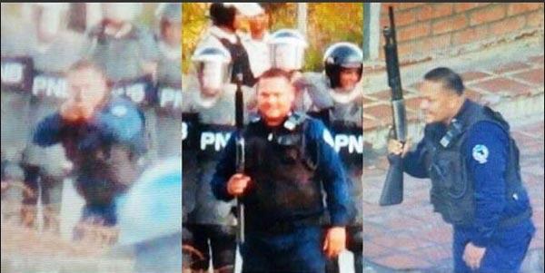 PoliAnzoátegui durante represión en Lechería | Twitter