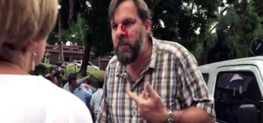 Acto chavista en Panamá termina en golpes   Foto: Captura de video