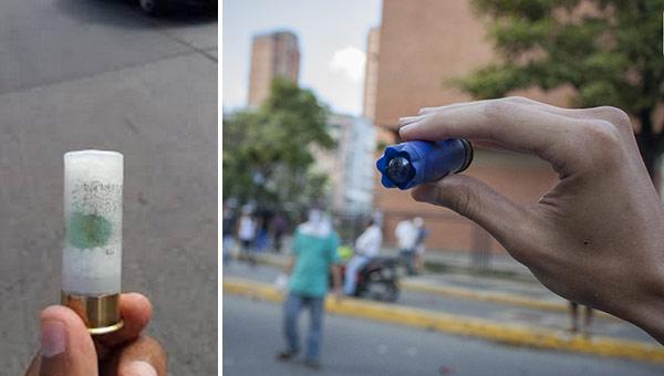 Denuncian que Cavim fabrica municiones de perdigones con metras | Fotos: Twitter/ El Pitazo