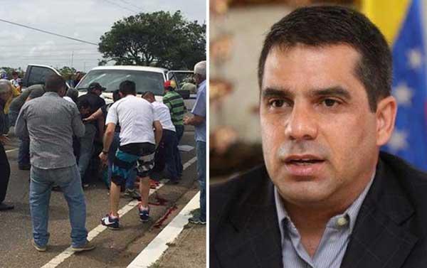 Presidente del IVSS se pronunció por arrollamiento de joven manifestante en Calabozo | Composición