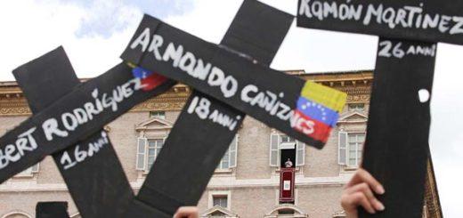 Venezolanos manifestando en el Vaticano | REUTERS / Max Rossi
