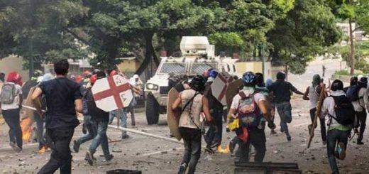 Muerte de Armando Cañizales marca otra jornada violenta de protestas en Venezuela   Foto: @ipaniza