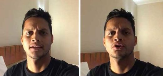 El futbolista venezolano, Roberto Rosales   Captura de video
