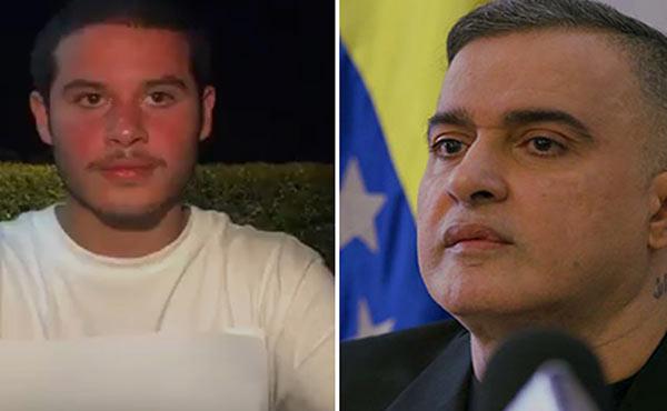 Saab respondió a periodista de CNN que le preguntó por la polémica con su hijo | Composición