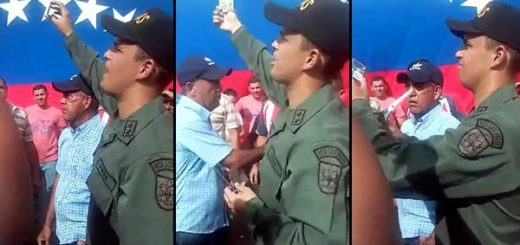 Primer teniente de la Guardia Nacional | Captura de video