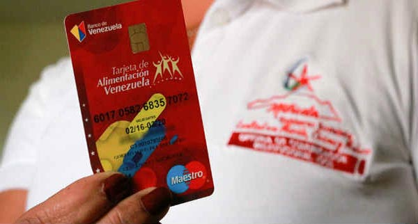 Tarjetas de Alimentación del Banco de Venezuela podrán ser usadas en cajeros y cualquier punto de venta | Foto: referencial