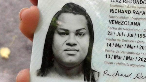 Transgénero asesinada en Hoyo de La Puerta, Caracas | Foto: @DarvinsonRojas