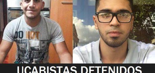 Ucabistas detenidos durante allanamiento en Villa Latina | Imagen. Twitter