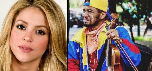 Shakira firmó violín para Wuilly | Imagen: Notitotal