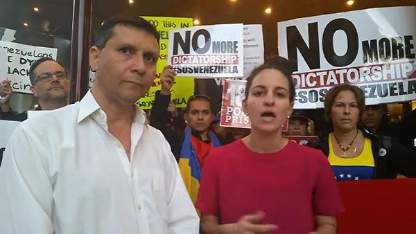 Venezolanos en Australia desmienten a la canciller | Foto: Captura de video