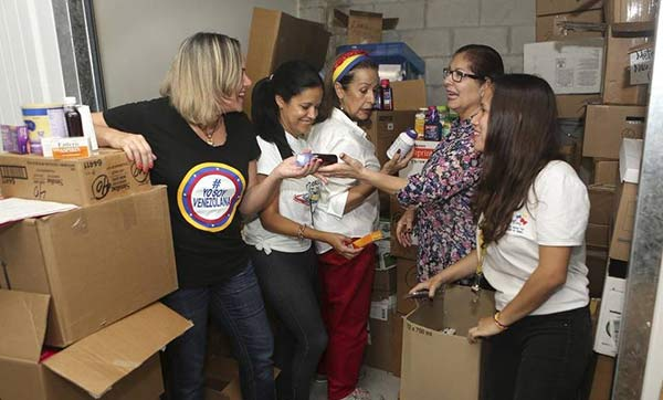 Venezolanos en el extranjero envían donaciones a Venezuela   Foto: La Patilla
