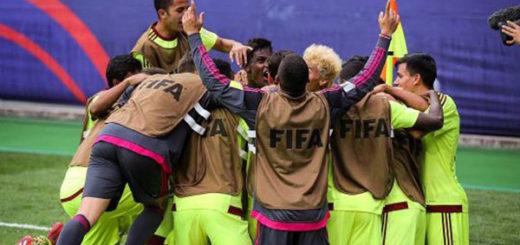 La Vinotinto Sub-20 se metió en octavos tras brutal goleada a Vanuatu | Foto: @vinotintosub20