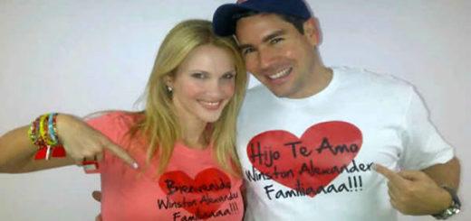 Winston Vallenilla y Camila Canabal | Foto: Archivo