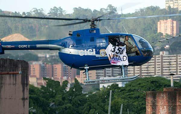 Resultado de imagen para OSCAR PEREZ HELICOPTERO