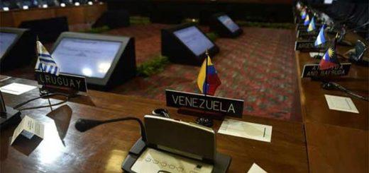 Asamblea de la OEA se instala en Cancún con la mirada puesta en Venezuela | Foto: AFP