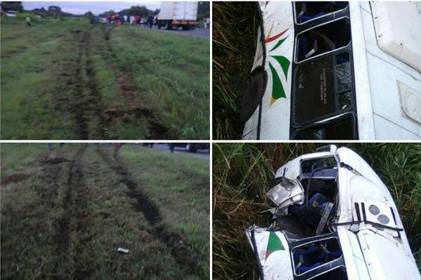 Accidente de tránsito en Portuguesa  Foto: Jorge Galindo