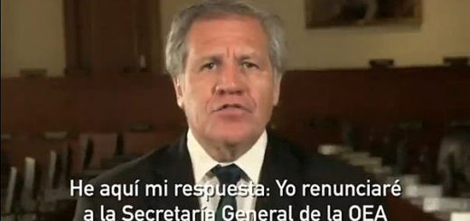 Luis Almagro | Foto: Captura de video