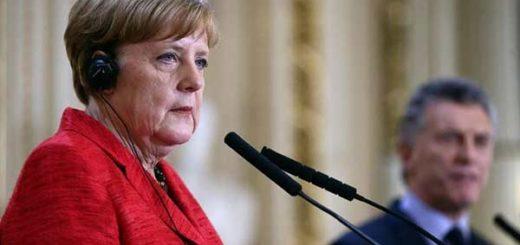 Angela Merkel, canciller de Alemania |Foto:  Prensa Casa Rosada, Argentina