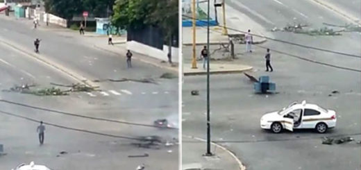 Reportaron ataques de colectivos armados en Barquisimeto durante protestas