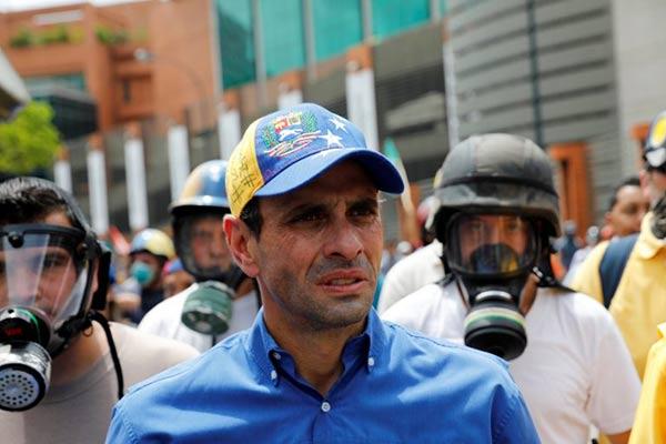 Henrique Capriles, Gobernador del estado Miranda |Foto: Reuters