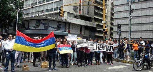 Caracas en Trancazo  Foto: Twitter