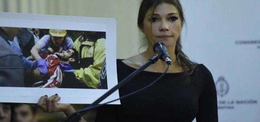Catherine Fulop expuso la crisis del país ante el Senado de Argentina |Foto: Foto: @fulopcatherine