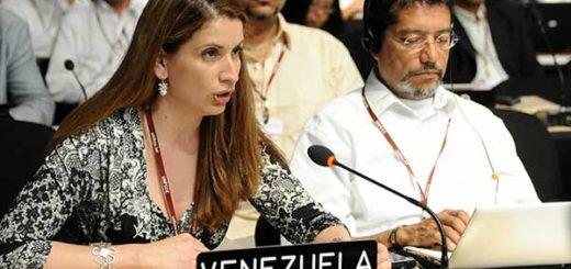 Claudia Salerno, embajadora de Venezuela en la UE | Foto: EFE