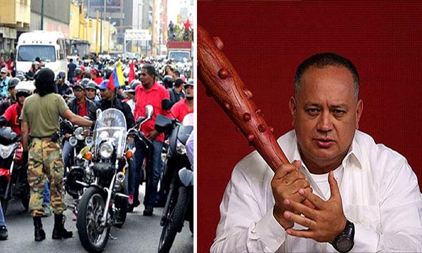 El supuesto acuerdo al que habrían llegado colectivos y Diosdado Cabello durante reunión en el cuartel de San Carlos | Composición