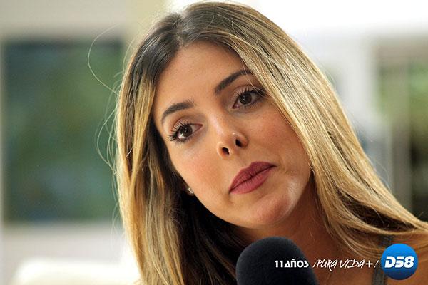El mensaje que le envió la cantante Corina Smith a Maduro | Foto: Digital58