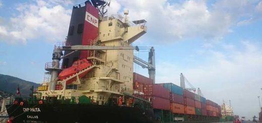 Arribaron al país 30 mil toneladas de trigo panadero | Foto: Referencial @Bolipuertos_PC