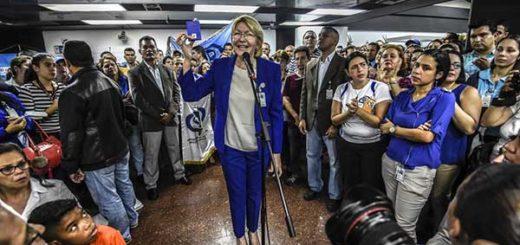 Fiscal General, Luisa Ortega Díaz | Foto: Twitter
