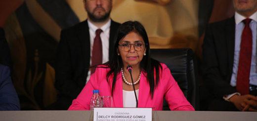 Delcy Rodríguez | Foto: @VTVCanal8