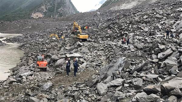 Deslizamiento de tierra en China |Foto: EFE