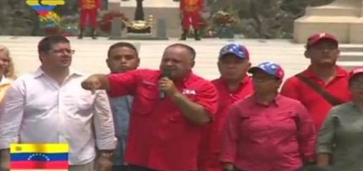 Diosdado Cabello durante acto en conmemoración a la batalla de Carabobo |Captura: VTV