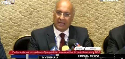 Diputado William Dávila rechazó que países de la OEA no aprobaran resolución sobre Venezuela |Captura de VPItv