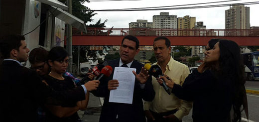 Diputados solicitan al TSJ calificación de falta grave para Tarek William Saab | Foto: @JuanMMatheus