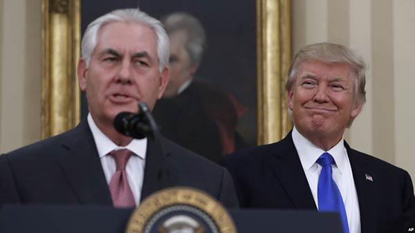 Donald Trump encomienda a Rex Tillerson debatir sobre Venezuela |Foto: Agencia