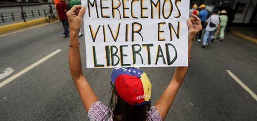 Venezolanos protestan contra Nicolás Maduro |Foto: EFE