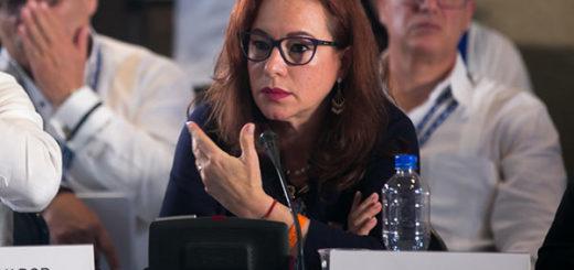 La canciller de Ecuador, María Fernanda Espinosa | Foto: Cancillería de Ecuador