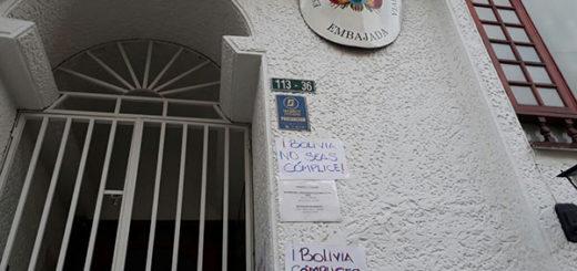 Embajada de Bolivia en Bogotá | Foto: Twitter