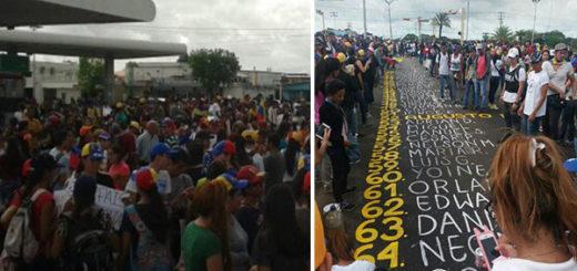 Estudiantes exigen justicia por la muerte de Augusto Puga en Bolívar | Composición