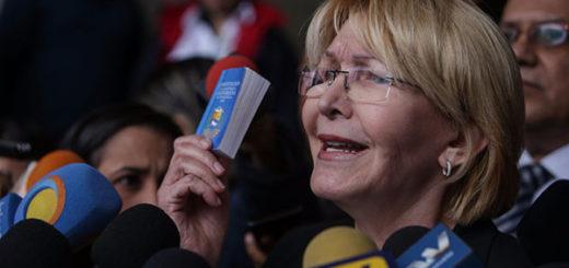 Fiscal General de la República, Luisa Ortega Díaz | Foto: Twitter
