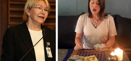 Meredith Montero consulta el tarot sobre el destino de la Fiscal General |Composición: Notitotal